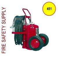 Amerex 451 Dry Chemical Nitrogen Cylinder Operated Extinguisher 150 lb.