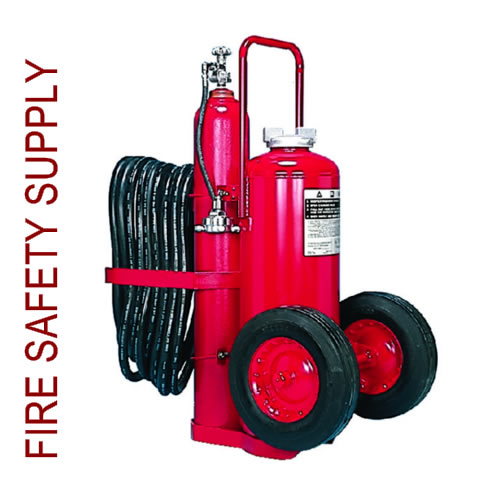 Amerex 468 150 lb. Dry Chemical Nitrogen Cylinder Operated Extinguisher