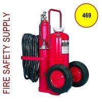 Amerex 469 125 lb. Dry Chemical Nitrogen Cylinder Operated Extinguisher