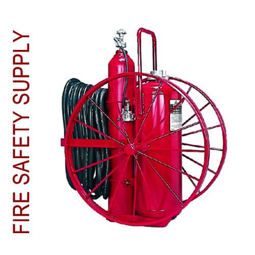 Amerex 471 150 lb. Dry Chemical Nitrogen Cylinder Operated Extinguisher