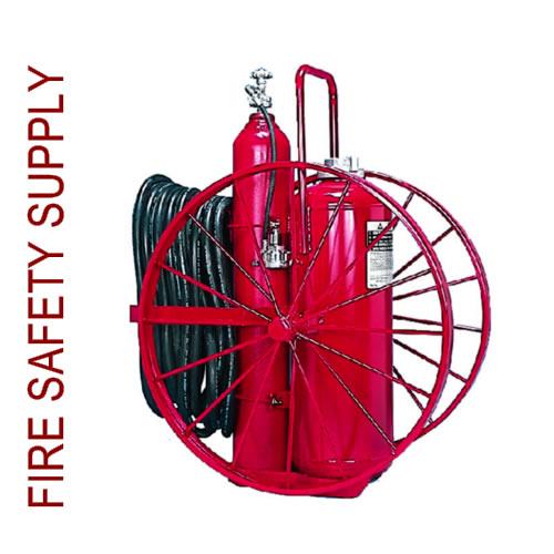 Amerex 472R 125 lb. Dry Chemical Nitrogen Cylinder Operated Extinguisher
