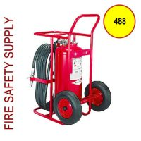 Amerex 488 Dry Chemical Stored Pressure Extinguisher 125 lb.