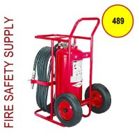 Amerex 489 Dry Chemical Stored Pressure Extinguisher 150 lb.