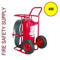 Amerex 490 125 lb. Dry Chemical Stored Pressure Extinguisher