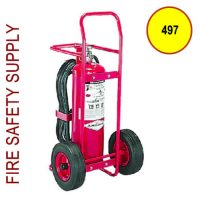 Amerex 497 Dry Chemical Stored Pressure Extinguisher 50 lb.