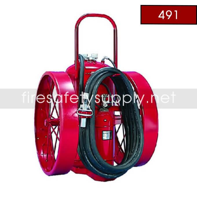 Amerex 491 Dry Chemical Nitrogen Cylinder Operated Extinguisher 300 lb.