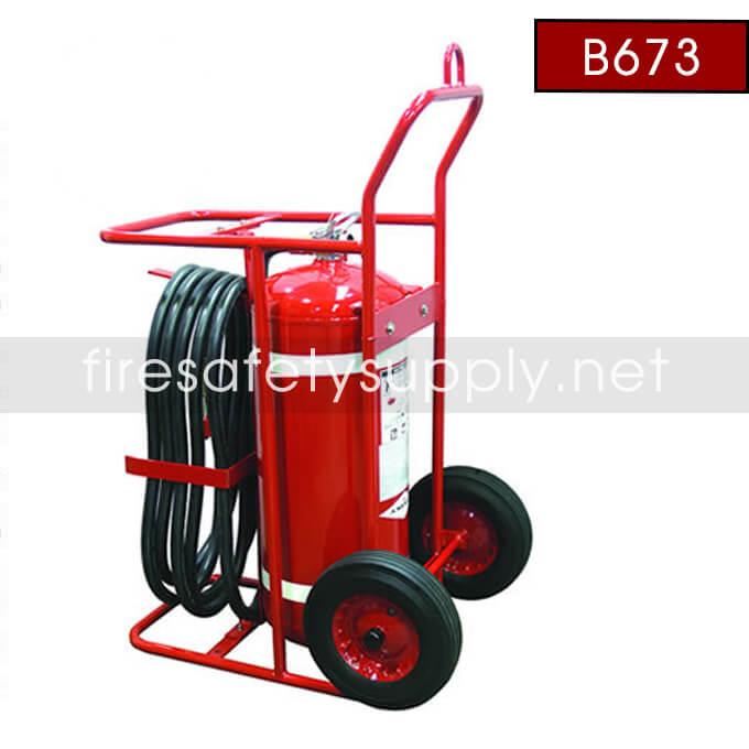 Amerex B673 65 lb. Halotron 1 Clean Agent Extinguisher