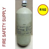 R102-Double Tank Test Cartridge, R102-DTCARTTEST - current hydrostatic test completed