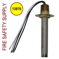 13976 Detector, Heat, Rate Compensated, 225 deg.F, Vert. (Qty. discount 50+)