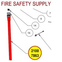 Badger 21007863 Siphon Tube Assembly, ADV-10