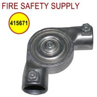 Pyro-Chem 415671 Pulley Elbow, Set Screw Type, 50/package each