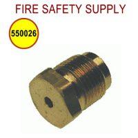 Pyro-Chem 550026 Relief Plug, High Temperature