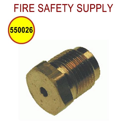 PyroChem 550026 - Relief Plug, High Temperature