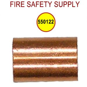 Pyro-Chem 550122 WC-100, Crimps for 1/16 in. Stainless Steel Wire Rope, Package of 100