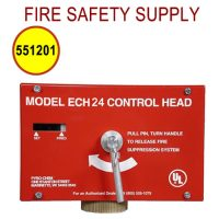 Pyro-Chem 551201 ECH-24 Control Head, Electrical, 24VDC, with Local Actuation