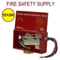 551206 NECH-24V Control Head, Electrical, 24VDC, No Local Actuation