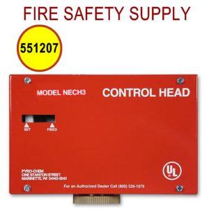 551207 NECH-120V Control Head, Electrical, 120VAC, No Local Actuation
