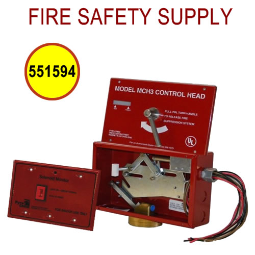 PyroChem 551594 - ECH/SM-120 ECH-120 Control Head and SM-120 - System Circuit Monitor