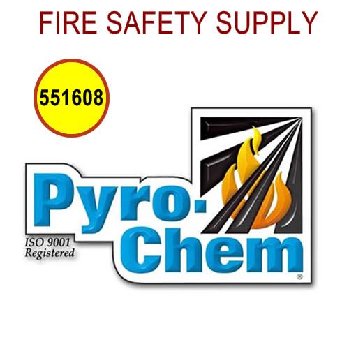 PyroChem 551608 - T-3W Three-Way Tee