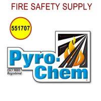 Pyro-Chem 551707 Valve-Cap/Rubber Seal Assembly, ATDII-35BC/ATD-80SBC