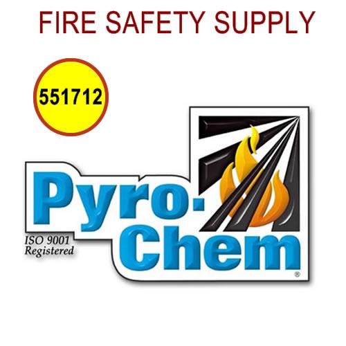 PyroChem 551712 - Rebuilding Kit, Dry Valve Seal, ATDII-80SBC - Only