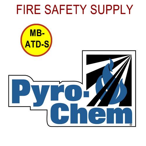 PyroChem MB-ATD-S Mounting Bracket, ATDII-80-SBC Short Cylinder
