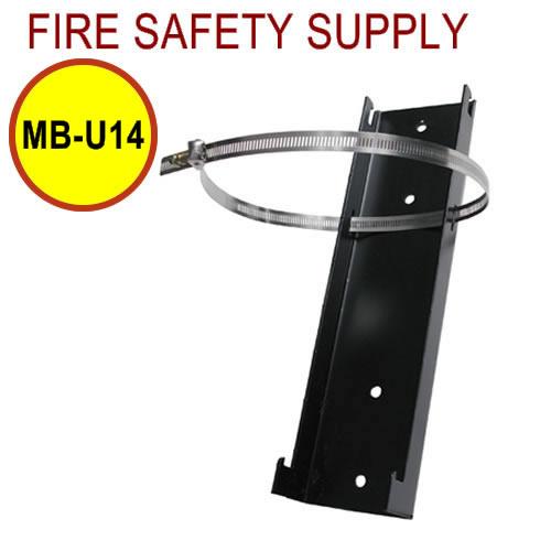 PyroChem MB-U14 Floor Mounting Bracket, ATDII-80-SBC Short Cylinder