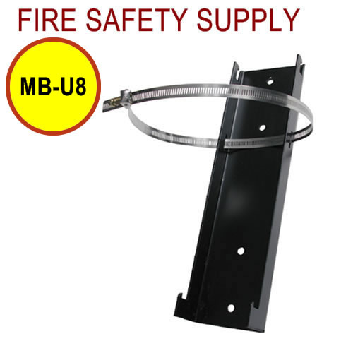PyroChem MB-U8 Floor Mounting Bracket, 8 in. Diameter Cylinders