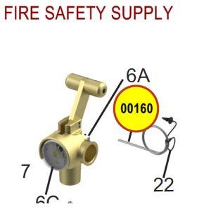 Amerex 00160 Ring Pin Stainless Steel