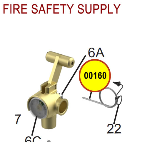 Amerex 00160 - Ring Pin Stainless Steel