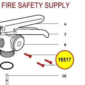 Badger 16517 - Carrying handle rivet large & small valves - 2 required