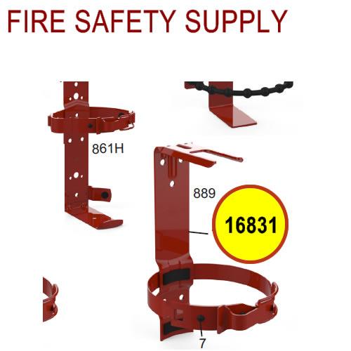 Amerex 16831 - 889 Bracket Assembly - 10 lb. 5 inch Dia. -Fork Style