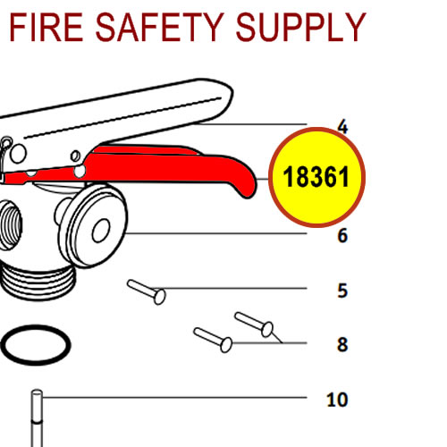 Badger 18361 - Carrying handle - small valve models