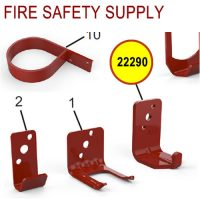 Amerex 22290 Wall Hanger Bracket Red-332