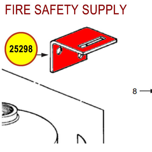 25298 Ansul Sentry Hanger Hook
