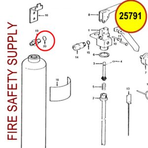 25791 Ansul Sentry O-Ring