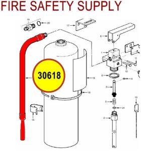 Ansul Sentry 30618 Hose & Nozzle Assembly