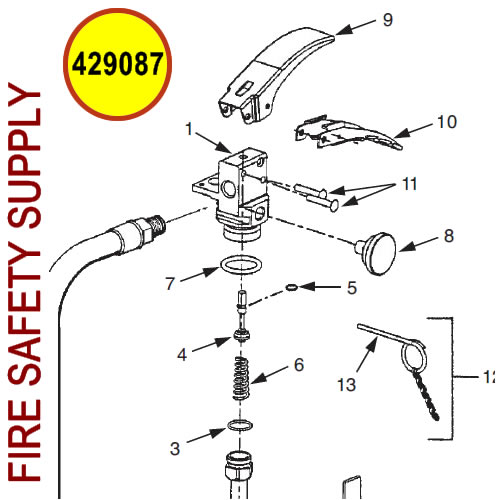 429087 Ansul Sentry Valve Assembly