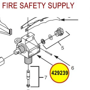 Ansul 429239 Sentry Valve Assembly