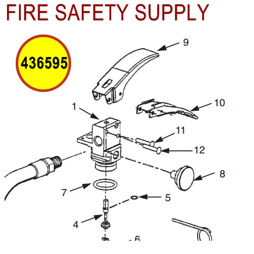 436595 Ansul Sentry Valve Assembly