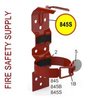 Amerex 845S Vehicle Bracket Red 2 Strap-All 1 lb., 1 and quarter inch, 1.4 lb. Aluminum Valve Models