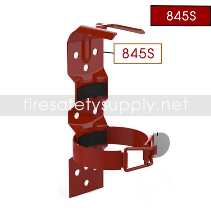 Amerex 845S Vehicle Bracket Red 2 Strap-All 1 lb