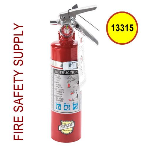 Buckeye 13315 Fire Extinguisher ABC Dry Chemical