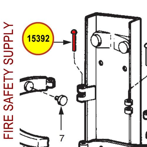 Ansul 15392 Red Line Rivet, Eyebolt