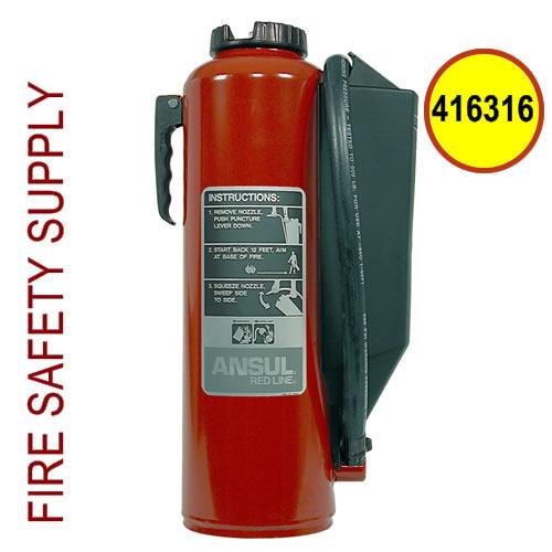 Ansul 416316 Red Line 20 lb. Extinguisher (CR-I-K-20-G)