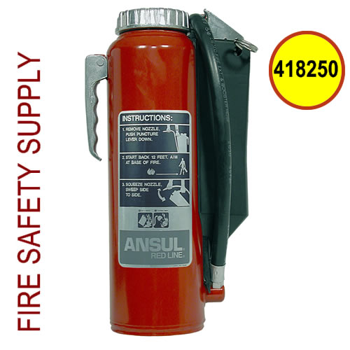 Ansul 418250 Red Line 10 lb. Extinguisher (RP-I-K-10-G)