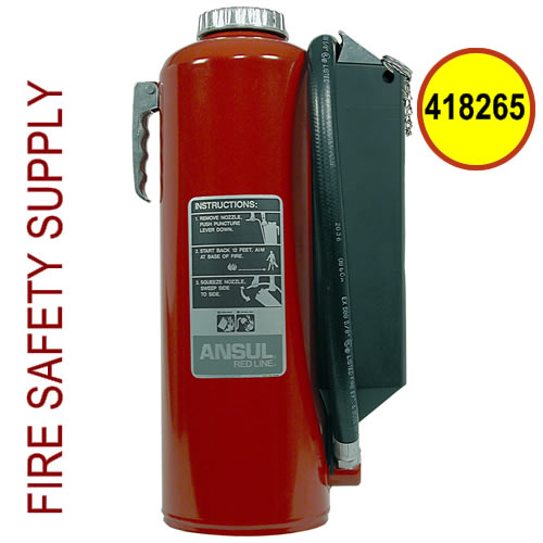 Ansul 418265 Red Line 30 lb. Hand Portable Extinguisher (RP-I-K-30-G)