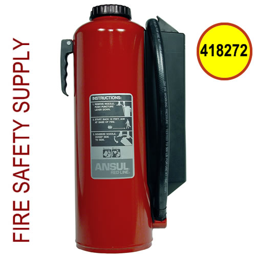 Ansul 418272 Red Line 30 lb. Hand Portable Extinguisher (CR-I-K-30-G)