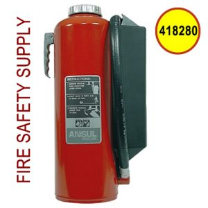 Ansul 418280 30 lb. RED LINE Hand Portable Extinguisher (HF-I-K-30-G)