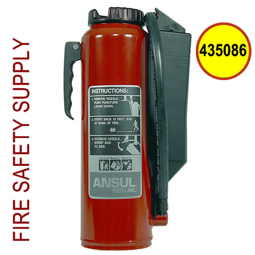 Ansul 435086 Red Line 10 lb. Extinguisher (CR-I-A-10-G-1)